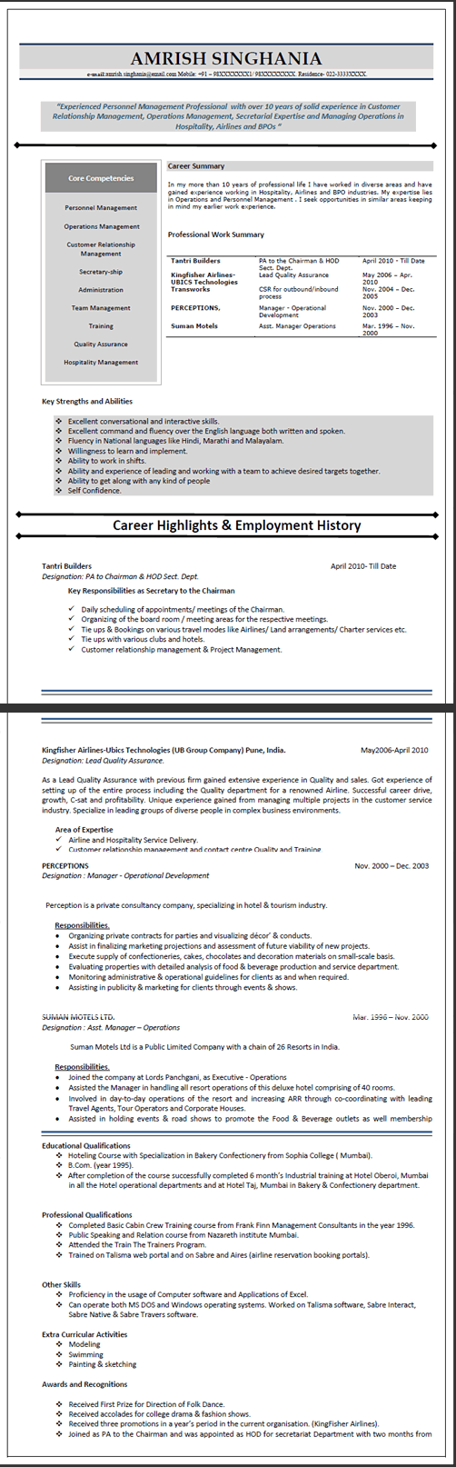 writing a resume government of canada resume preparation pdf resume samples types of resume formats examples